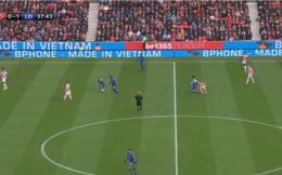 Bất ngờ chưa, quảng cáo Bphone xuất hiện trên sân bóng Ngoại Hạng Anh!