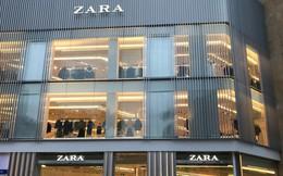 """HOT: Tận mặt ngắm trọn 3 tầng của store Zara Hà Nội, """"to và sáng"""" nhất phố Bà Triệu"""