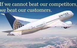 Các doanh nghiệp lớn đôi khi vẫn có những nhân viên thô lỗ, nhưng ở United Airlines, CEO còn biến điều đó thành văn hóa công ty!