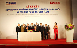 Thaco thay thế Mercedes, trở thành nhà phân phối xe tải, bus FUSO tại Việt Nam