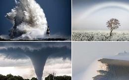 Cầu vồng trắng, mây thấu kính và những hiện tượng thời tiết kỳ dị năm qua!