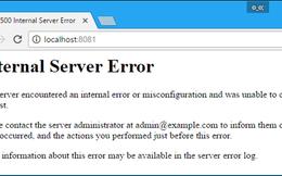 Lướt web gặp lỗi 500 Internal Server Error phải làm gì?