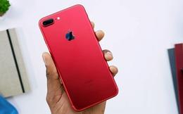 Người Việt ngày càng chi đậm mua iPhone, 25 triệu cho một chiếc iPhone 7 Plus đỏ vẫn bán chạy như thường