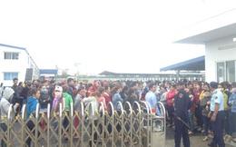 1.000 công nhân Cty TNHH May mặc One woo ngừng việc tập thể: Bức xúc chính đáng