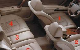 Vị trí nguy hiểm nhất trên xe ô tô con và những dấu hiệu nếu thấy, cần hết sức chú ý!