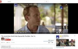 """Nhiều quảng cáo vẫn xuất hiện bên cạnh các video cực đoan trên YouTube, giá trị vốn hóa Google """"bốc hơi"""" 24 tỷ USD"""