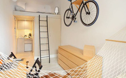 Anh chàng độc thân tự tay thiết kế nội thất vô cùng ấn tượng cho căn hộ 13m2 của mình