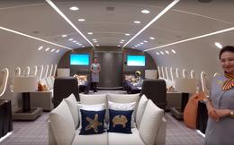 """""""Choáng"""" với căn hộ được làm từ máy bay cho thuê giá ngất ngưởng 1,7 tỷ đồng/giờ"""