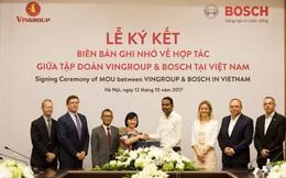 Sau khi chiêu mộ ông Võ Quang Huệ, Vingroup chính thức bắt tay Bosch Việt Nam sản xuất ô tô, xe máy điện