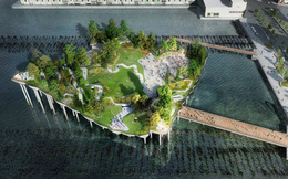 Công viên nổi 250 triệu USD giữa New York của trùm truyền thông Mỹ