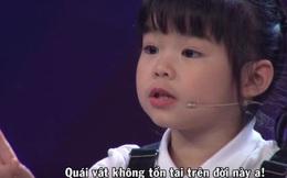 """Cô bé 5 tuổi nói tiếng Anh như gió, phát âm cực chuẩn trong """"Biệt tài tí hon"""" là ai?"""