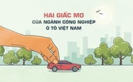 Hai giấc mơ của ngành công nghiệp ôtô Việt Nam