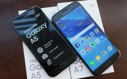 Nóng ở phân khúc smartphone tầm trung, Samsung Galaxy A5 (2017) chưa tới 9 triệu đồng cũng chống được nước
