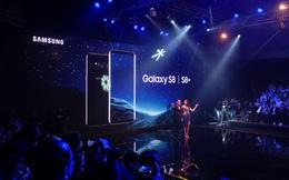 Samsung ra mắt Galaxy S8/S8+ tại Việt Nam, giá lần lượt 18,5 và 20,5 triệu