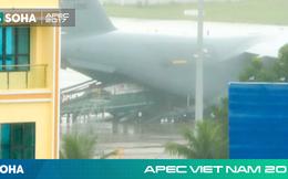 [NÓNG] Siêu trực thăng Marine One hộ tống tổng thống Mỹ Donald Trump đã tới Đà Nẵng