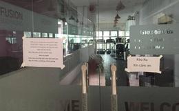 Sau phòng tập ở chợ Hàng Da, cơ sở trên đường Hoàng Hoa Thám của Fusion Bodyworks cũng bất ngờ đóng cửa không hẹn ngày trở lại