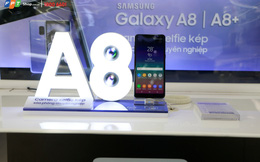 Nhận bộ quà khủng đến 8 triệu đồng khi đặt mua siêu phẩm Galaxy A8/A8+ 2018 tại FPT Shop
