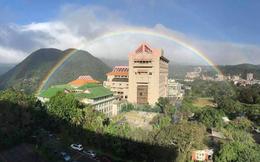 Đài Loan xuất hiện cầu vồng tuyệt đẹp kéo dài liên tục 9 tiếng, hứa hẹn sẽ phá vỡ kỷ lục Guinness