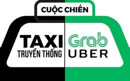 """Taxi truyền thống liên tục """"tố"""" Uber, Grab phá giá thị trường, các Bộ nói gì?"""