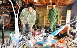 Thợ sửa xe máy vùng cao sáng chế ra máy nông nghiệp cho ruộng bậc thang, làm thay nông dân từ A-Z, dự định bán 200 chiếc vào năm 2018