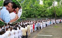 Viện trưởng Viện huyết học truyền máu trung ương nghỉ hưu, hàng trăm y bác sĩ, bệnh nhân xếp hàng chia tay trong nước mắt