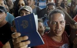 """Mỹ sẽ chấm dứt chính sách """"chân ướt, chân ráo"""" với Cuba"""