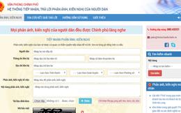Con số chứng minh nguoidan.chinhphu.vn sẽ là chiếc cầu nối tốt : 1000 ý kiến được gửi về chỉ sau 1 ngày hoạt động