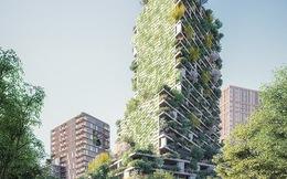 Chung cư cao cấp với 10.000 cây xanh bao bọc xung quanh