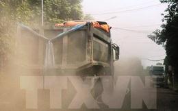 Ô nhiễm bụi tại các khu đô thị lớn tiếp tục ở ngưỡng báo động