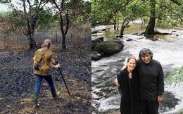 Sau 27 năm cần mẫn làm lụng trên mảnh đất bỏ hoang, cặp vợ chồng này đã làm được điều phi thường