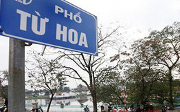 Hà Nội có thêm hàng loạt tên đường, phố mới