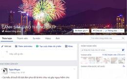 Đà Nẵng: Cảnh sát giao thông xử lý vi phạm nhờ Facebook