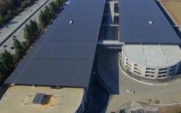 """""""Trụ sở phi thuyền"""" Apple: Bãi đậu xe còn rộng hơn diện tích văn phòng"""