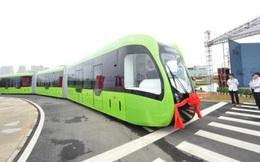 Tàu không cần đường ray - Thiết kế đường sắt tương lai đến từ Trung Quốc