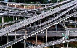 Đây là chiếc cầu vượt 5 tầng, 20 làn đường, đi 8 hướng, bạn có tin rằng mình sẽ chọn đúng đường cần đi?
