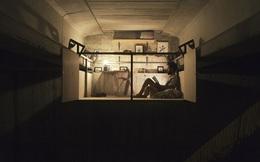 Nghệ sĩ người Tây Ban Nha dựng một studio ngay dưới chân cầu - nơi làm việc tiện nghi đến không ngờ