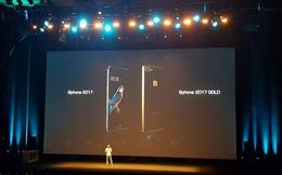 Bphone 2017 có phiên bản Gold ấn tượng với camera kép, chip Snapdragon 835, nhưng không bán tại Việt Nam