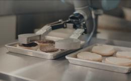 Hai triệu nhân viên có nguy cơ thất nghiệp vì... robot tự rán thịt