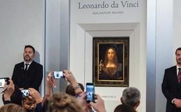 Bức tranh hơn 450 triệu đô và 19 phút rung chuyển thế giới mỹ thuật