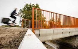 Cây cầu được in 3D đầu tiên có thể chịu được 40 chiếc xe tải.. nhưng chỉ cho xe đạp đi qua