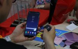 Ngày đầu mở bán Samsung Galaxy S8/S8+: Đơn đặt hàng cao kỉ lục, bán chạy nhất màu đen
