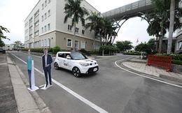FPT lần đầu thử nghiệm thực tế xe ô tô tự lái đầu tiên của Việt Nam với tốc độ 20-25km/h
