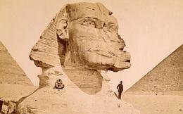 Ảnh hiếm thời du khách được leo trèo lên kim tự tháp Ai Cập
