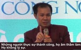 Ông Nguyễn Hữu Thái Hòa: Cá độ bóng đá là đội kiếm tiền giỏi nhất trong cách mạng 4.0 ở Việt Nam