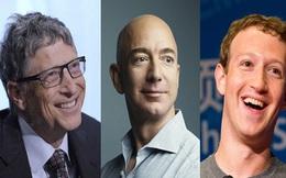 100 tỷ phú công nghệ giàu nhất thế giới sở hữu hơn 1.000 tỷ USD