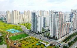 Khu tái định cư sang chảnh nhất Sài Gòn nhìn từ trên cao nhưng vắng bóng người
