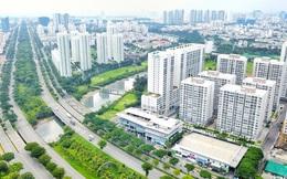 Cận cảnh nguồn cung đang ùn ùn mọc lên trên trục đường lớn nhất khu đô thị Phú Mỹ Hưng