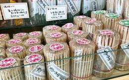 Khám phá cửa hàng tăm 300 năm tuổi độc nhất vô nhị ở Tokyo, chuyên bán đồ xỉa răng cho samurai từ thời Edo