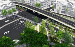 Hà Nội: Chính thức khởi công cây cầu vượt hơn 300 tỷ đồng