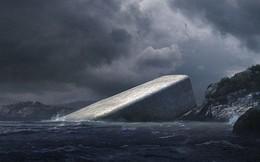 Cứ ngỡ tảng đá khổng lồ nổi trên mặt nước, tới gần ai cũng phải thốt lên kinh ngạc